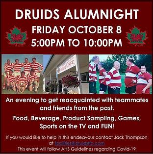 Druids Alumi night