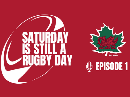 Saturday is Still a Rugby Day #1