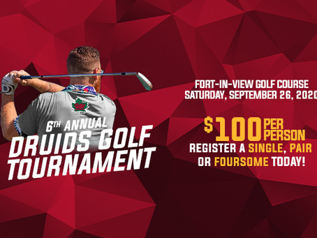 6th Annual Druids Golf Tournament