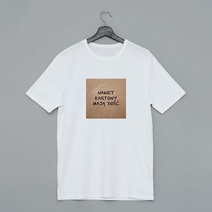 T-shirt Nawet kartony mają dość