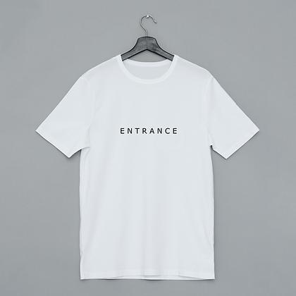 T-shirt entrance - exit