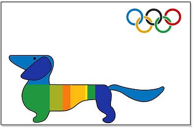 dachshund owners waldi 1972 summer olympics mascot logo