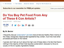 Class Action Lawsuits over Dogfood