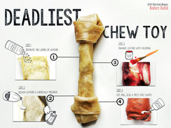 Beware Rawhide Chews