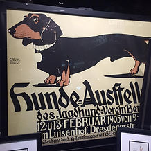dachshund owners dachshund advert from germany 1905