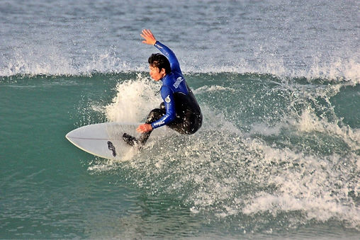 surfer and acupuncture Dr