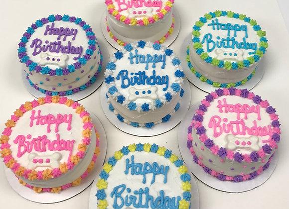 3 LAYER BIRTHDAY CAKES TO GO