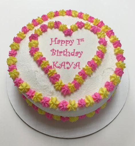 7in round custom cake