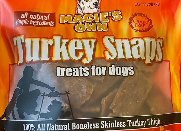 Macie's Own Turkey Snaps