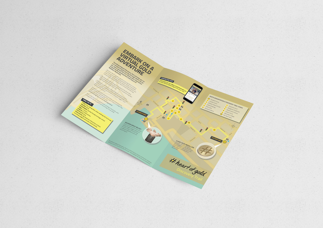 Flyer design - A4 trifold