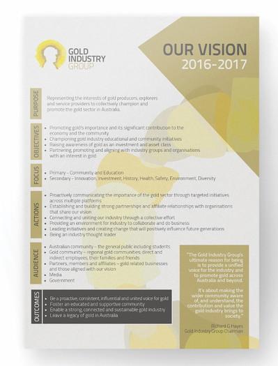 Info flyer design