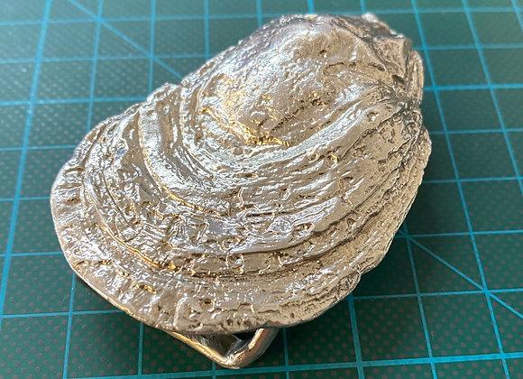 Oyster Belt Buckle - Brass