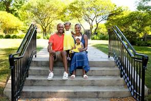 Lenae Williams and family