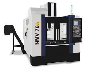 YCM NMV Series Heavy Duty Boxway Vertical Machining Center - NMV Series Vertical Machining Center is the latest developed machine for efficient production industries; widely adopted in automobile, aerospace, electronic and precision die & mold industries ; especially its large Y-axis travel design accommodates most molds & dies applications.