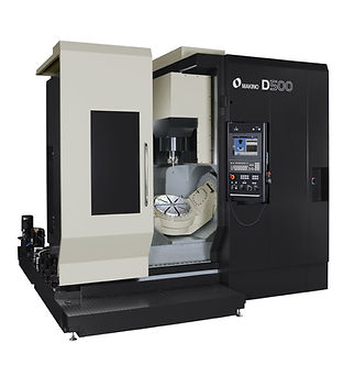 Makino D500 5-axis machining center, best 5 axis machine, 5 axis machining, 5 axis mill
