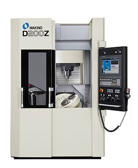 Makino D200Z 5 axis machining center, 5 axis machine, 5 axis mill, makino 5 axis