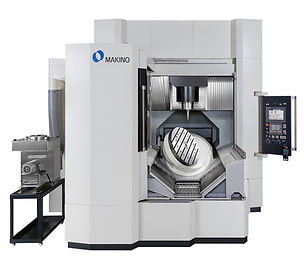 Makino D800 5-axis machining center for complex mold machining, die and mold machining, tool machining, complex part machining, most accurate 5-axis machine, best surface finish, best part finish, best 5-axis machine, best 5 axis machine