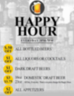ParkVue Grill Happy Hour
