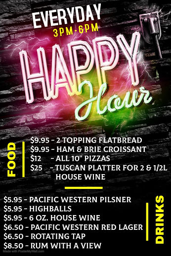 Copy of Happy Hour - Bar Flyer Template