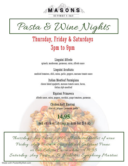 Copy of Pasta Night Template - Made with