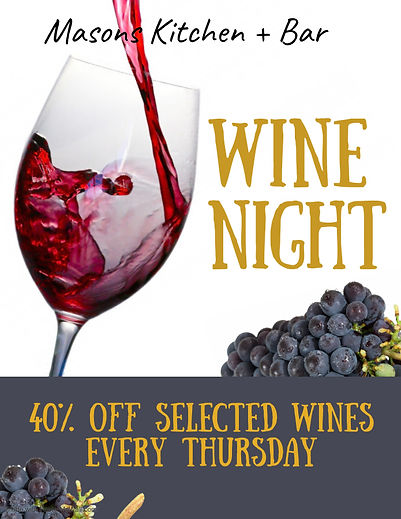 Copy of Wine Tasting Flyer Template - Ma