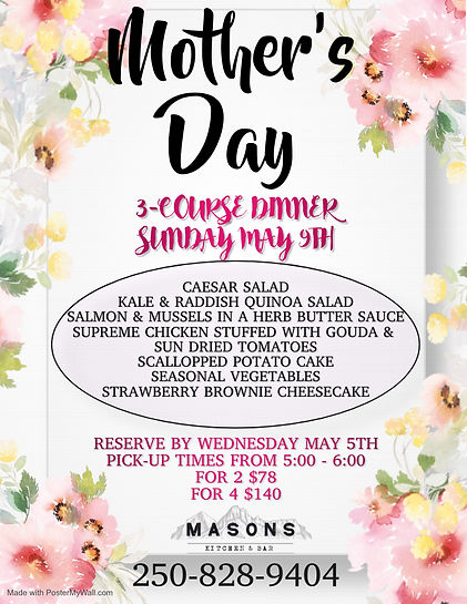 Copy of Mothers Day Flyer Happy Mothers
