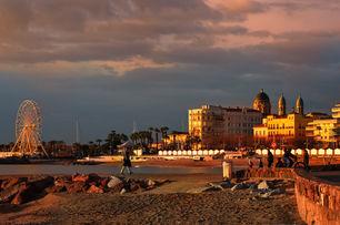 Coucher de soleil sur Saint Raphaël