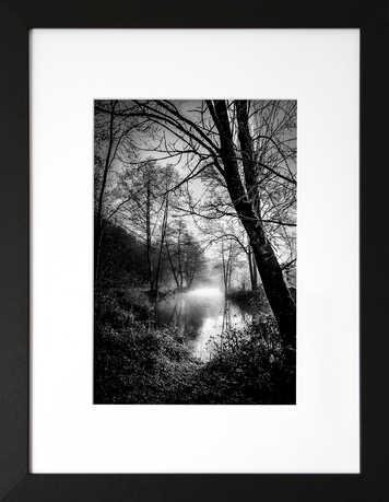 Brume du matin sur la rivière