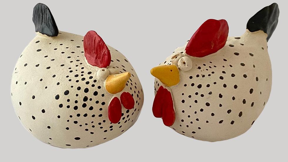 Töpferanleitung Huhn