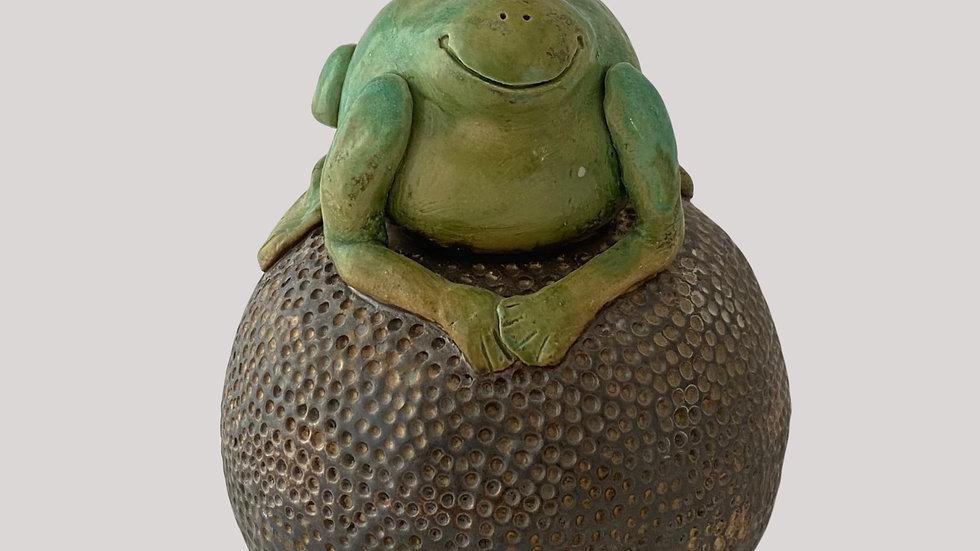 Töpferanleitung Froschkönig
