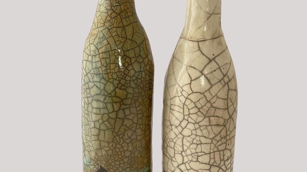Töpferanleitung Flasche