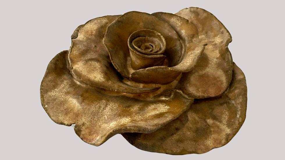 Töpferanleitung Rose