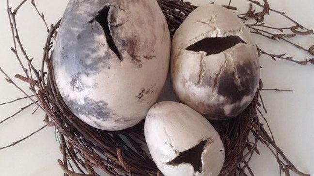 Töpferanleitung Ei