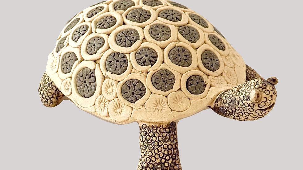 Töpferanleitung Schildkröte