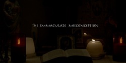 The Immaculate Misconception