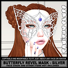 Squishy Fluff - Butterfly Revel Mask - s