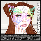 Squishy Fluff - Butterfly Revel Mask - r