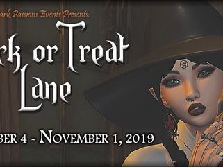 Trick Or Treat Lane 2019 - Designers Announced