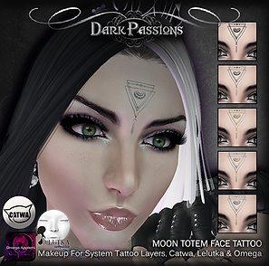 Dark Passions - Eyemakeup - Moon Totem T