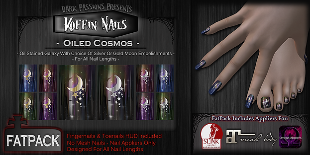 Koffin Nails - Fatpack - Oiled Cosmos.pn