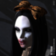 Goth1c0_ Orange Bats Headband Gift for T