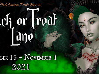 The Spooky Returns... Apps Open For Trick or Treat Lane