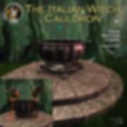 F&M _ Italian Witch Cauldron _ Exclusive