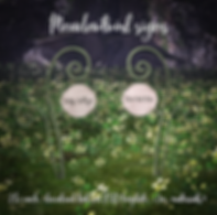 {Raindale - Meadotwirl signs (hunt gift)