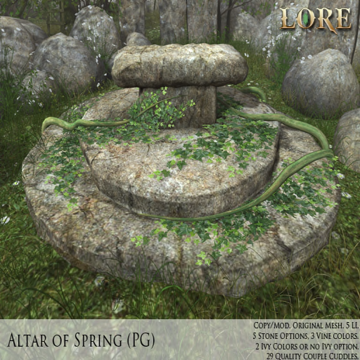 {LORE} Altar of Spring PG