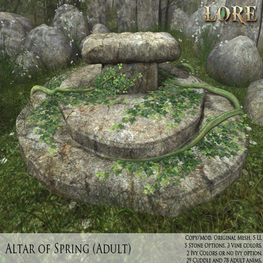 {LORE} Altar of Spring Adult