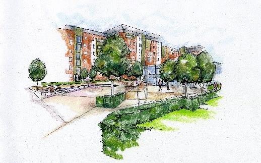 Swan Paul Partnership Chartered Landscape Architects Sketch Scheme