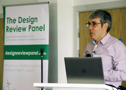 Tim Burton Design Review Panel CPD