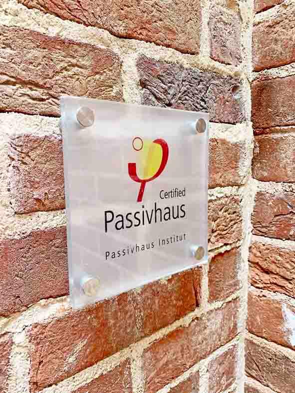 Walled Garden Farringdon (Para 79/55), Design Review Panel Post completion Site Visit - Passivhaus certification / accreditation