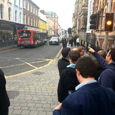 Queen Street, Exeter Street DEMOnstration
